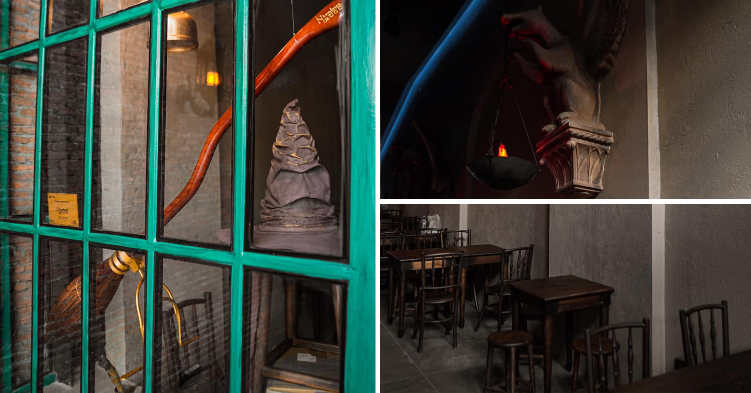 Harry Potter Bar & Cafe In Thailand