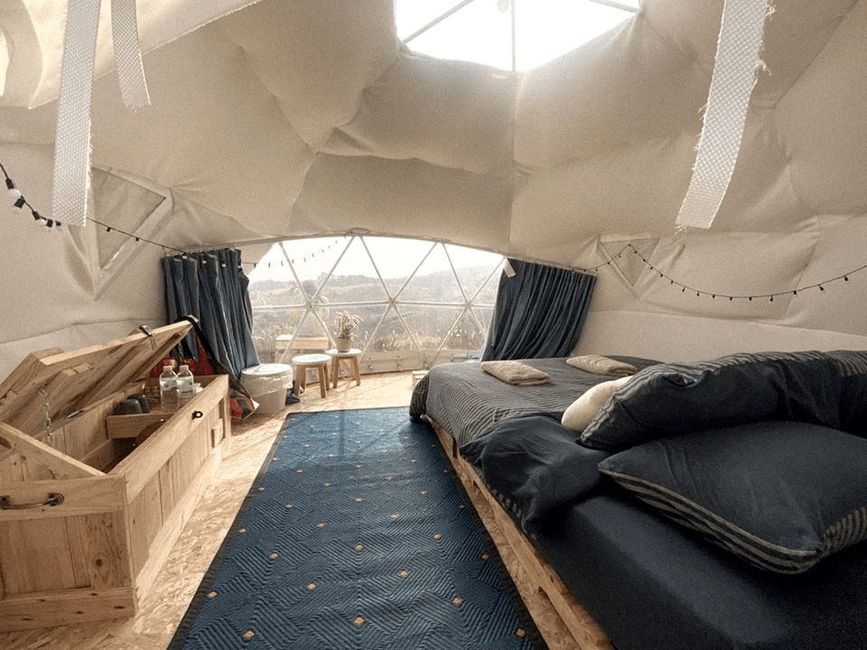 Glamping camps in Thailand