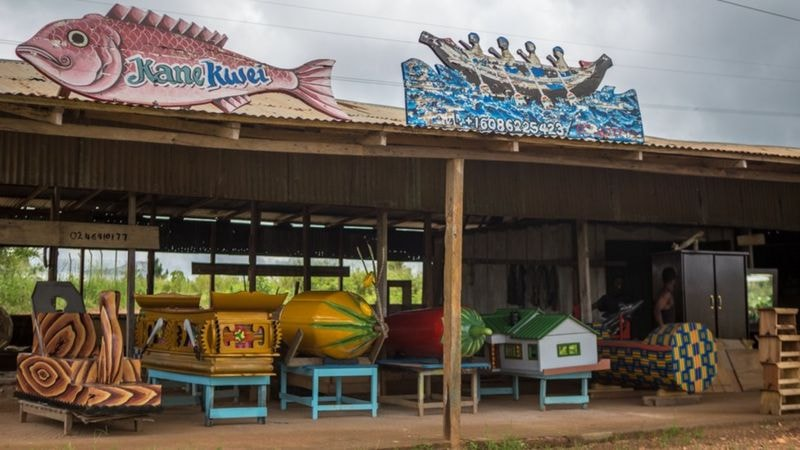 Quirky Coffins in Ghana