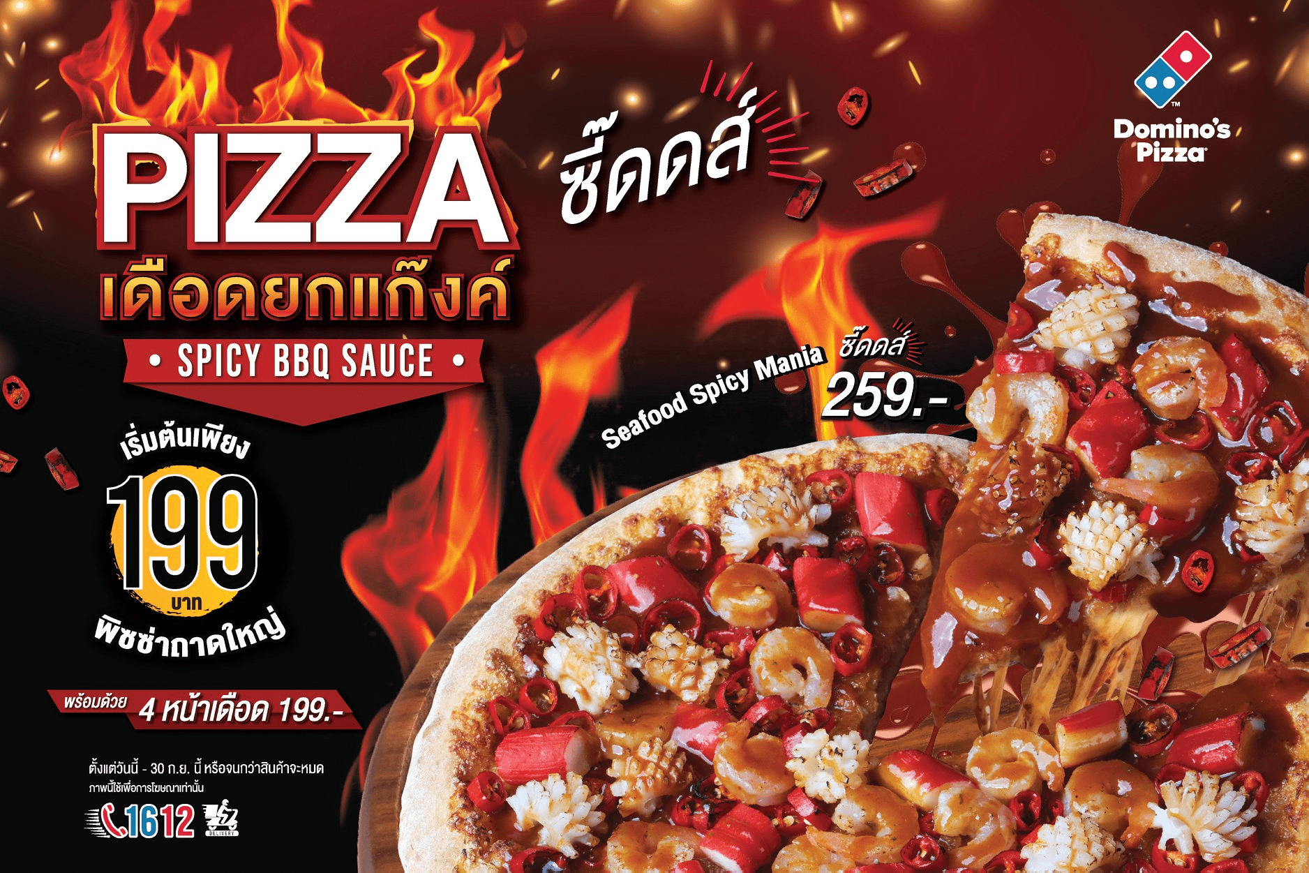 Spicy BBQ Pizza