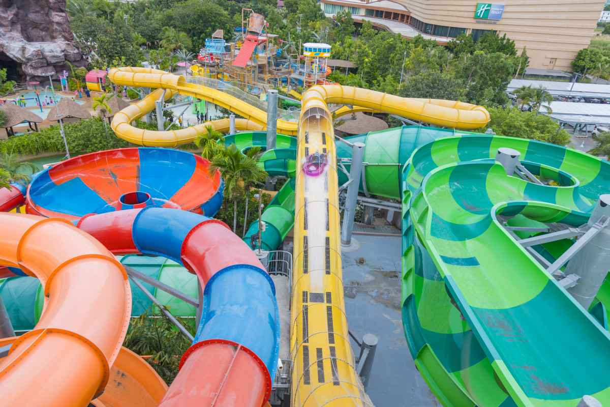 VR Slide at Vana Nava Water Jungle