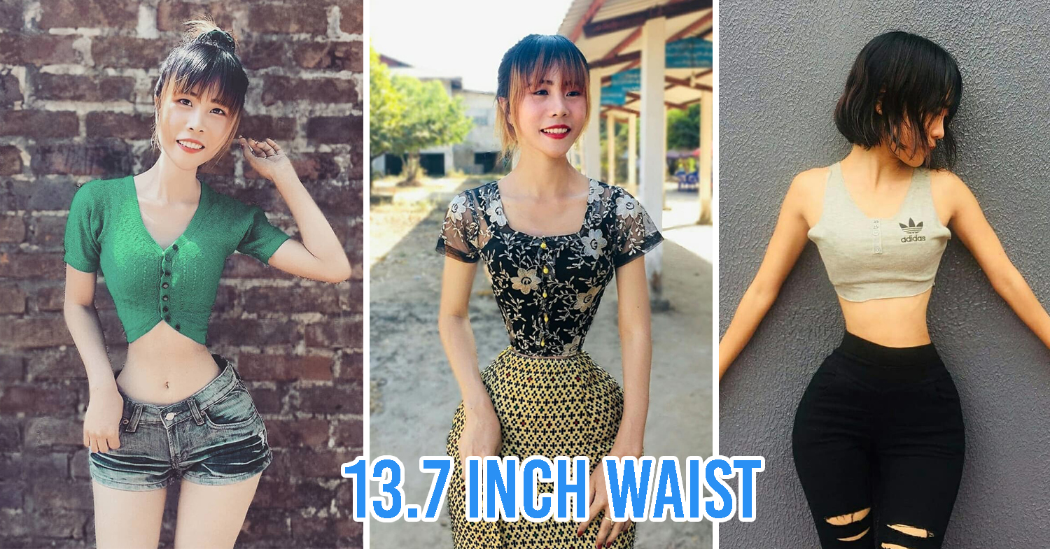 Women with the smallest waist in the world
