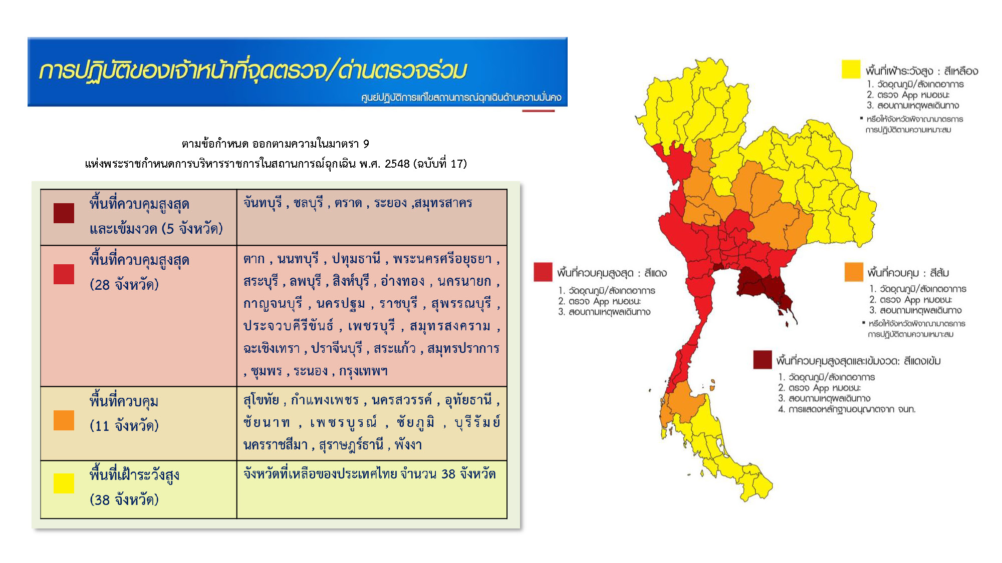 Thailand Covid-19 Red Zone Map