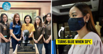 Thai Engineering Students Invent Colour-Changing Face Mask Based On Body Temp, Can Suss Out Fevers