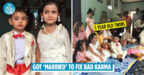 "5-Year-Old Twins ""Get Married"" In Thailand, Parents Wanted To Fix Their Karma From Past Lives"