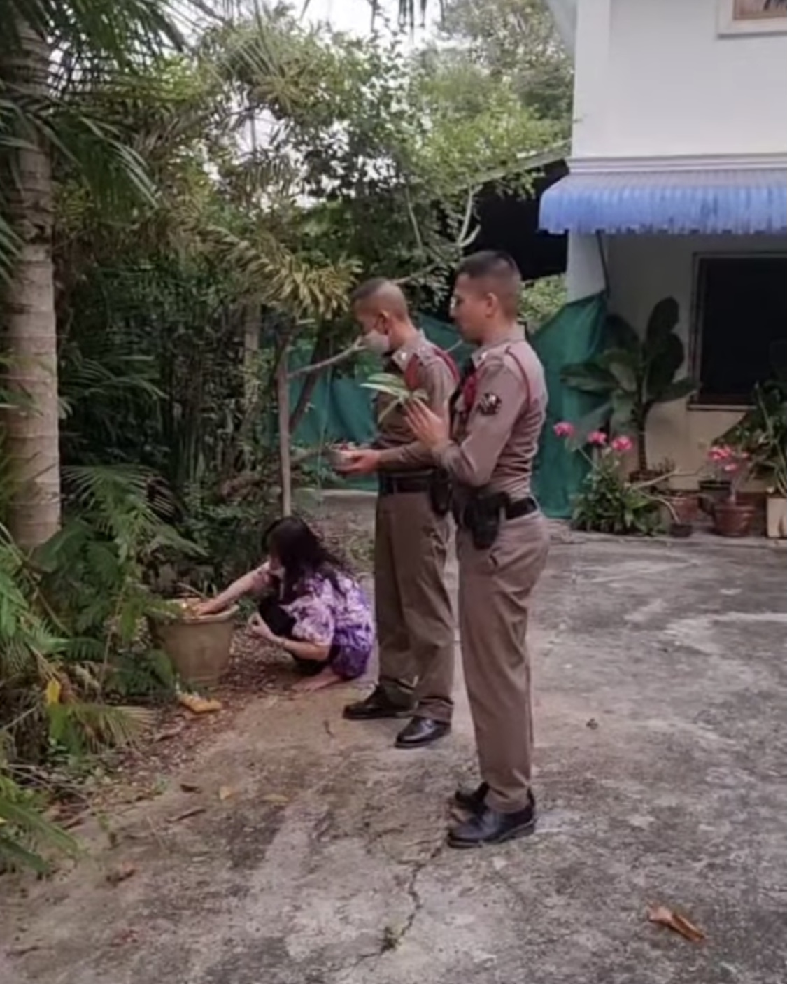 police does ritual