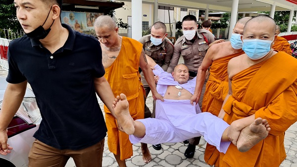 monk carried away
