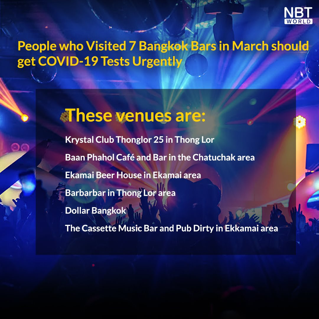 Covid-19 Cases In Thailand Increase By 334, Said To Be Linked To Entertainment Venue Cluster