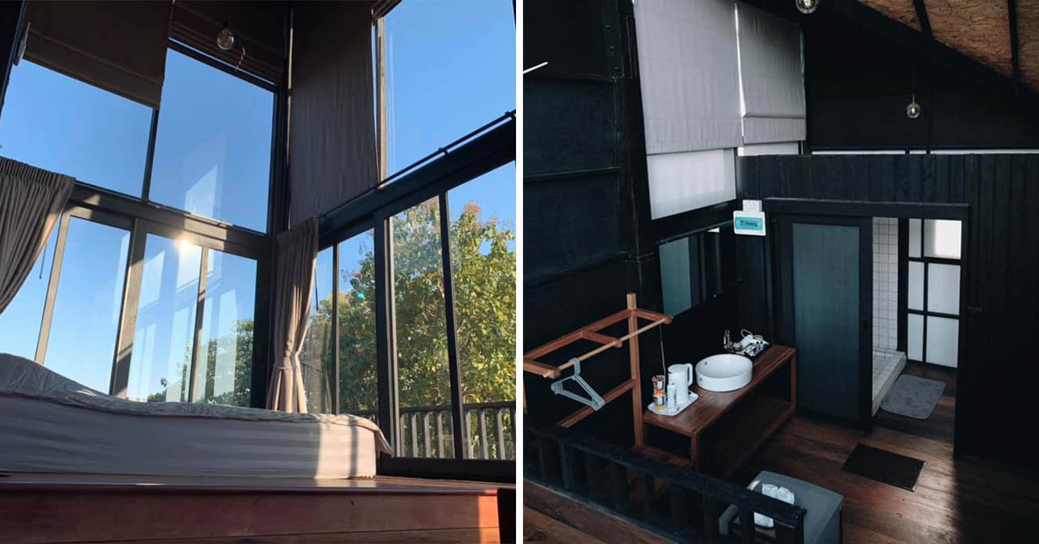 BaanNubdao Homestay's Cottages Has Floor To Ceiling Windows & Muji Hotel-esque Furniture