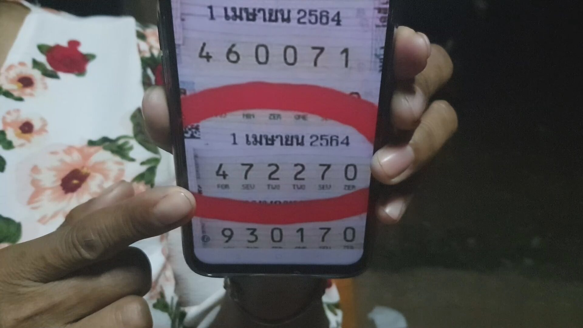 Thai Woman Won 6 Million THB For National Lotto Because Of Son's Dream