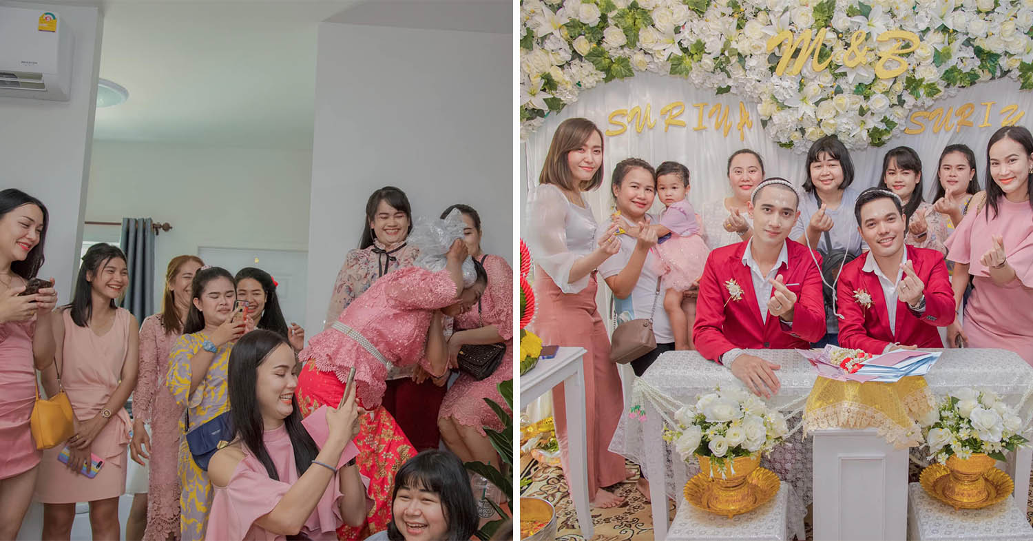 "Thai Grandpa Attends Grandson's Same-Sex Wedding Despite Initial Resistence Due To ""Tradition"""
