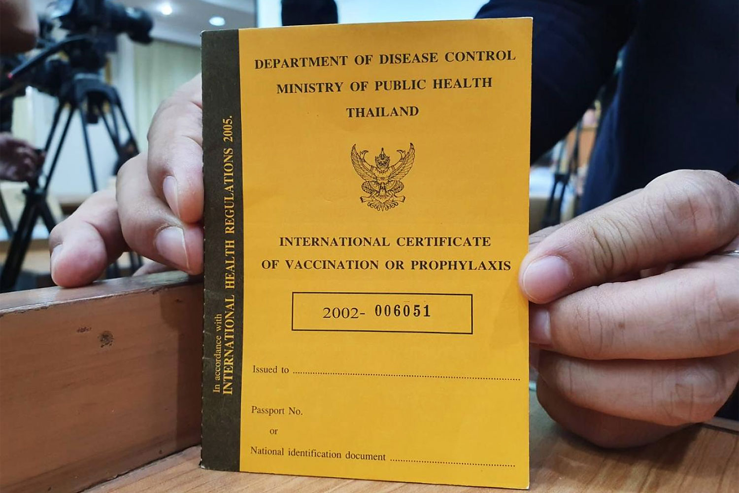 thai vaccine passport