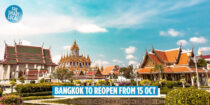Bangkok Reopens On 15 Oct To Global Tourists, After Hitting 70% Vaccinated Goal