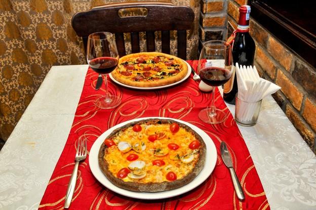 La Hostaria pizza