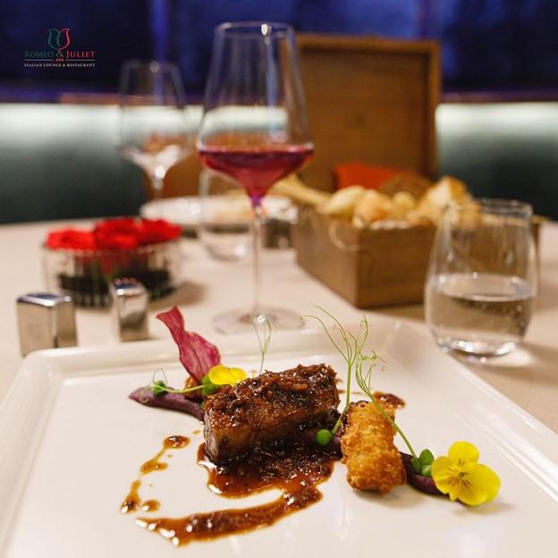 R&J restaurant wagyu with truffle