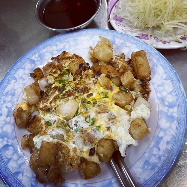Saigon bot chien fried flour cubes