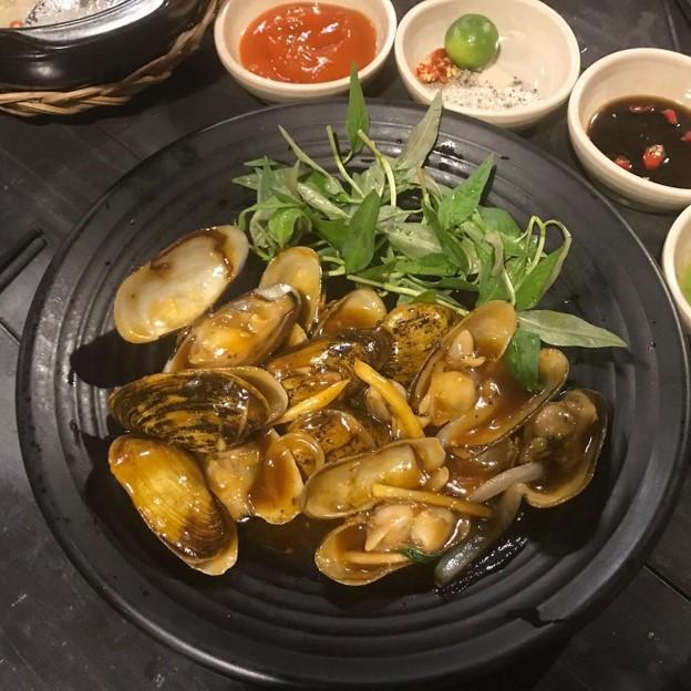 Saigon snails escargot