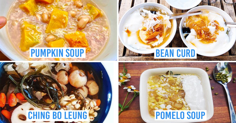 vietnamese sweet soup desserts