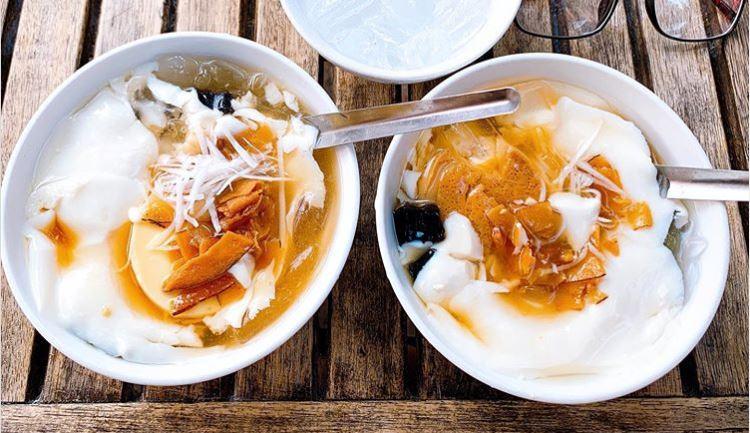 vietnamese bean curd called tao pho