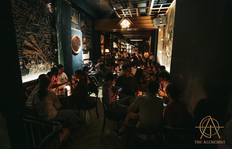 hanoi old quarter bars the alchemist interior