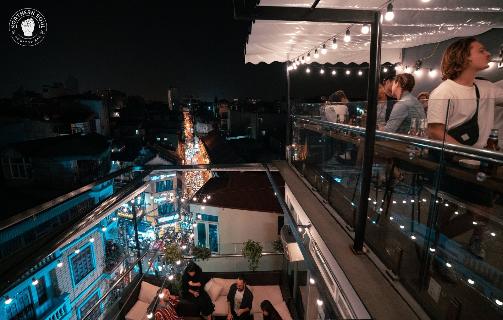 hanoi old quarter bars northen soul rooftop bar view