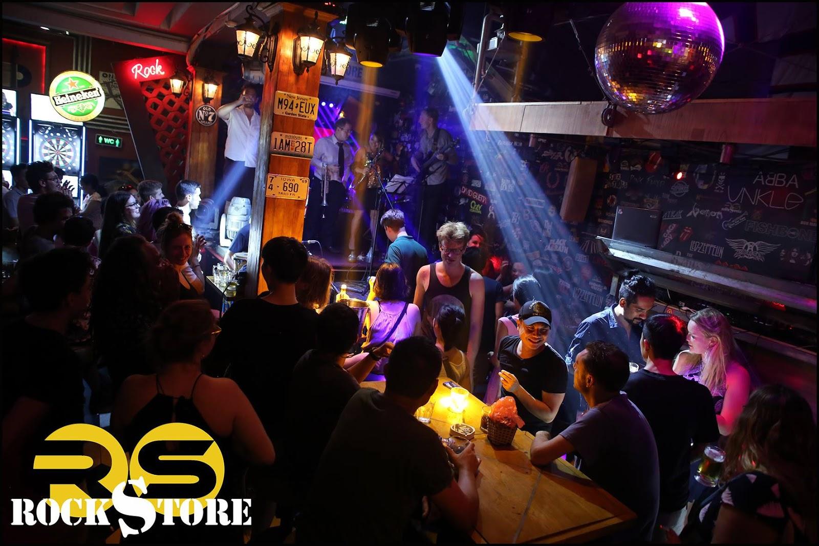 hanoi old quarter bars rockstore bar interior