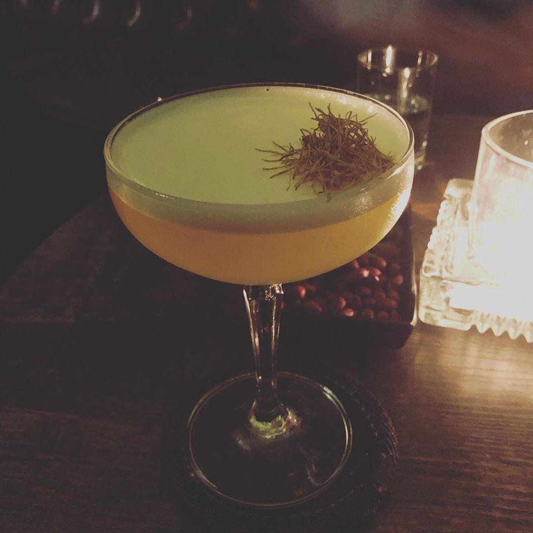 the alchemist bar hanoi signature cocktail le jardin du nil