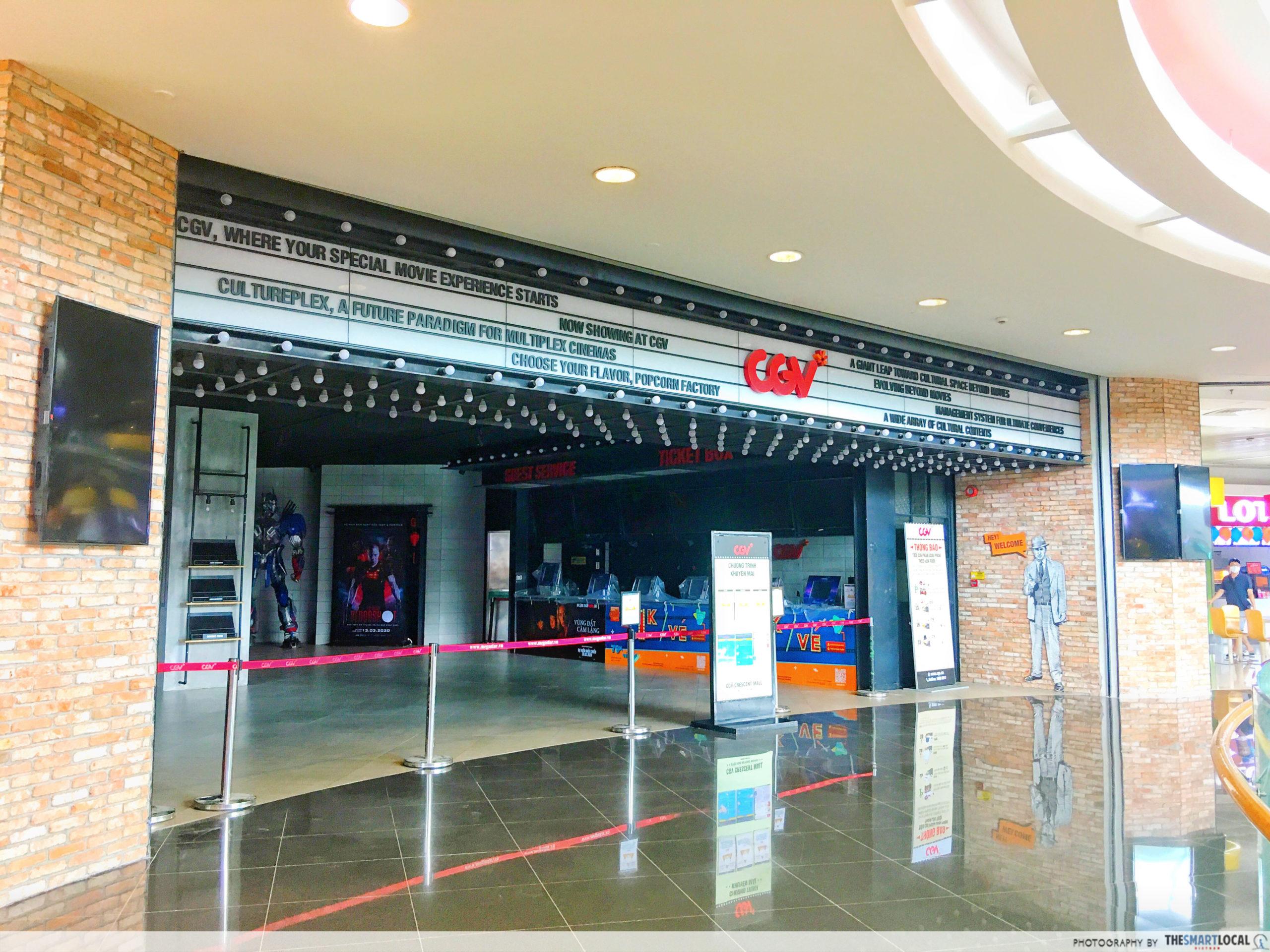 CGV cinema closed