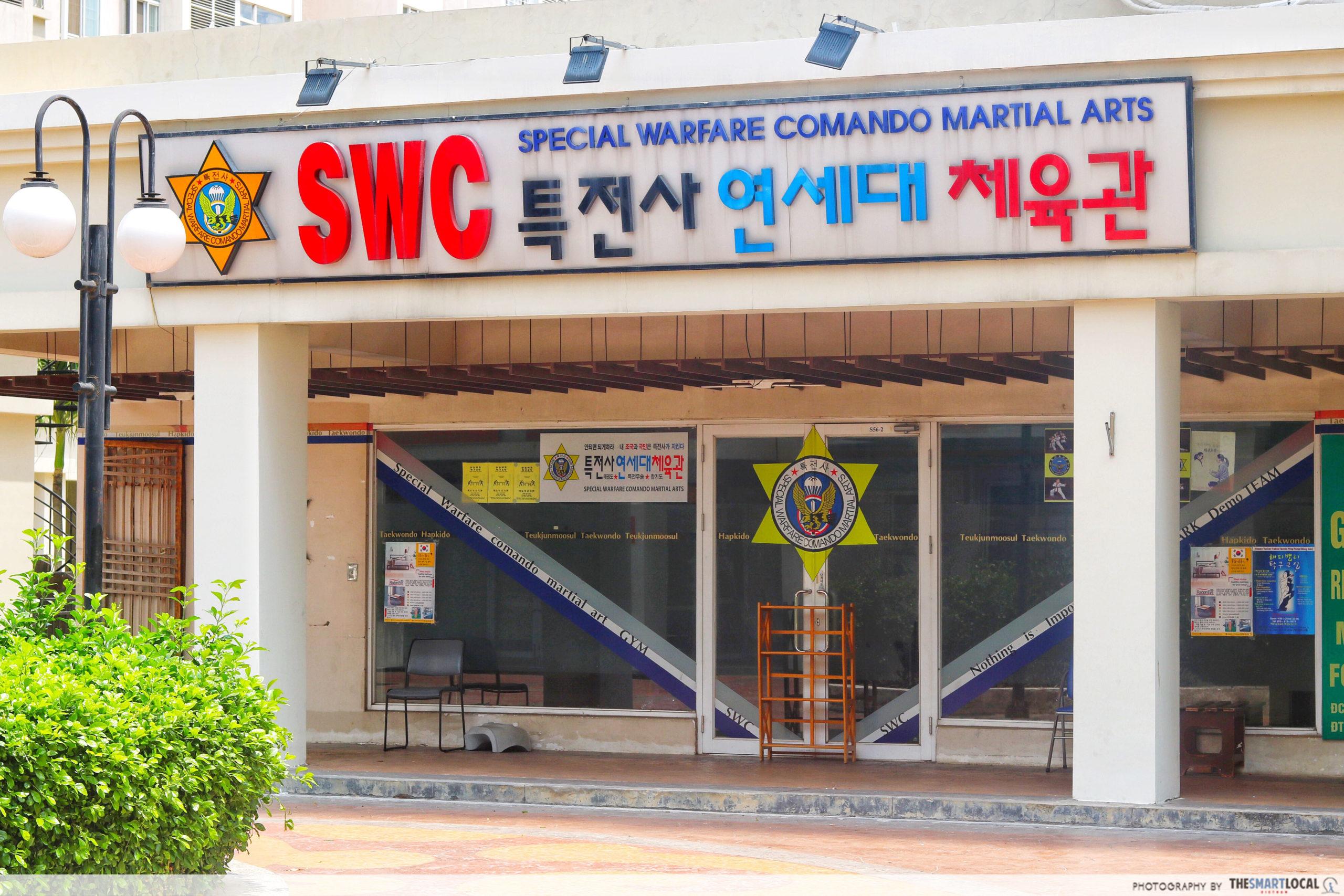 Martial art club in Sky Garden 3 shut down