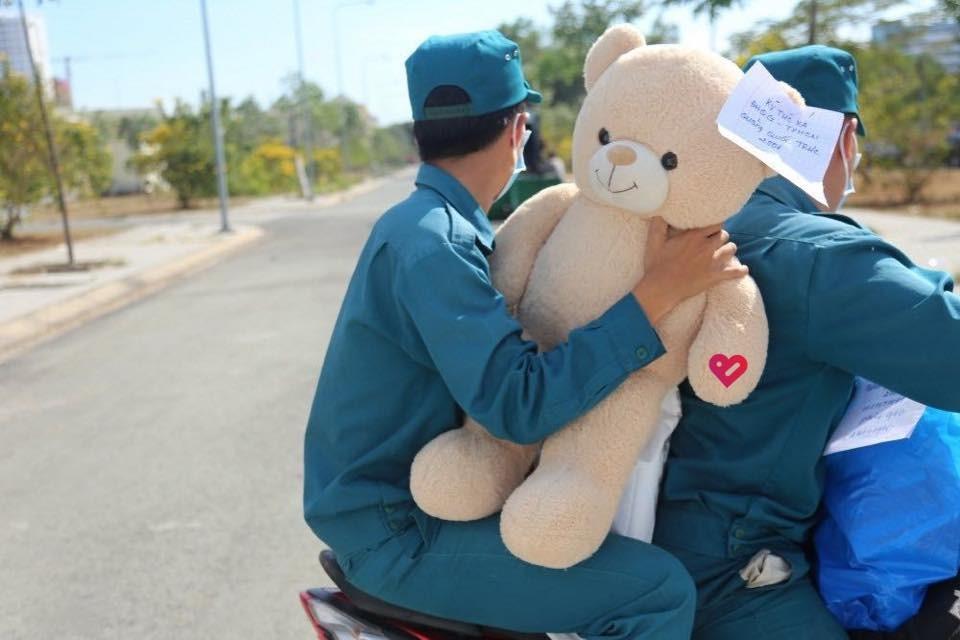 teddy bear for the quarantine