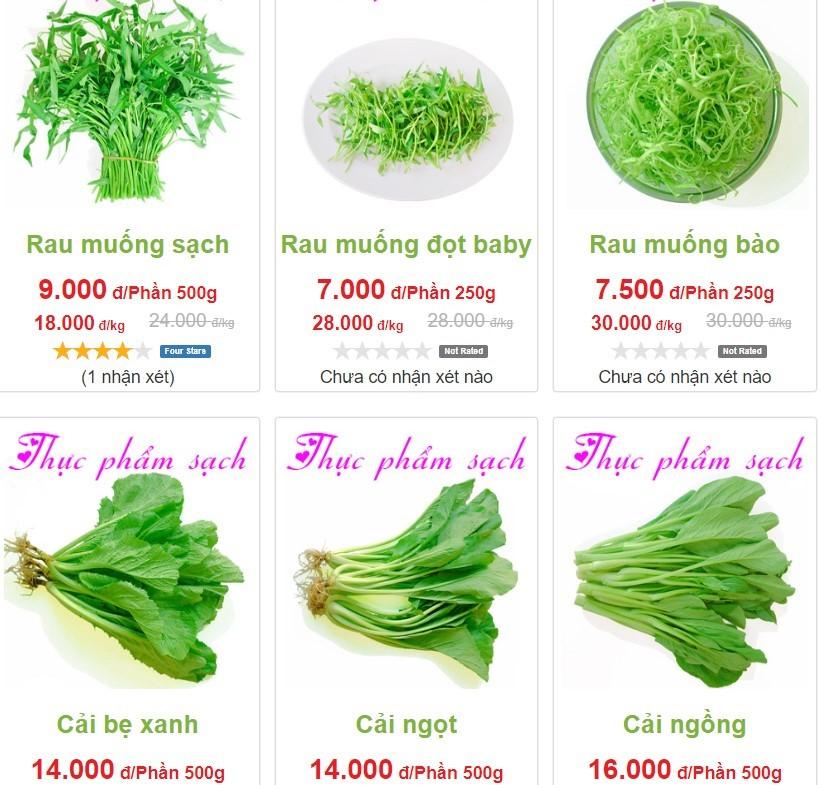Di cho online fresh produce