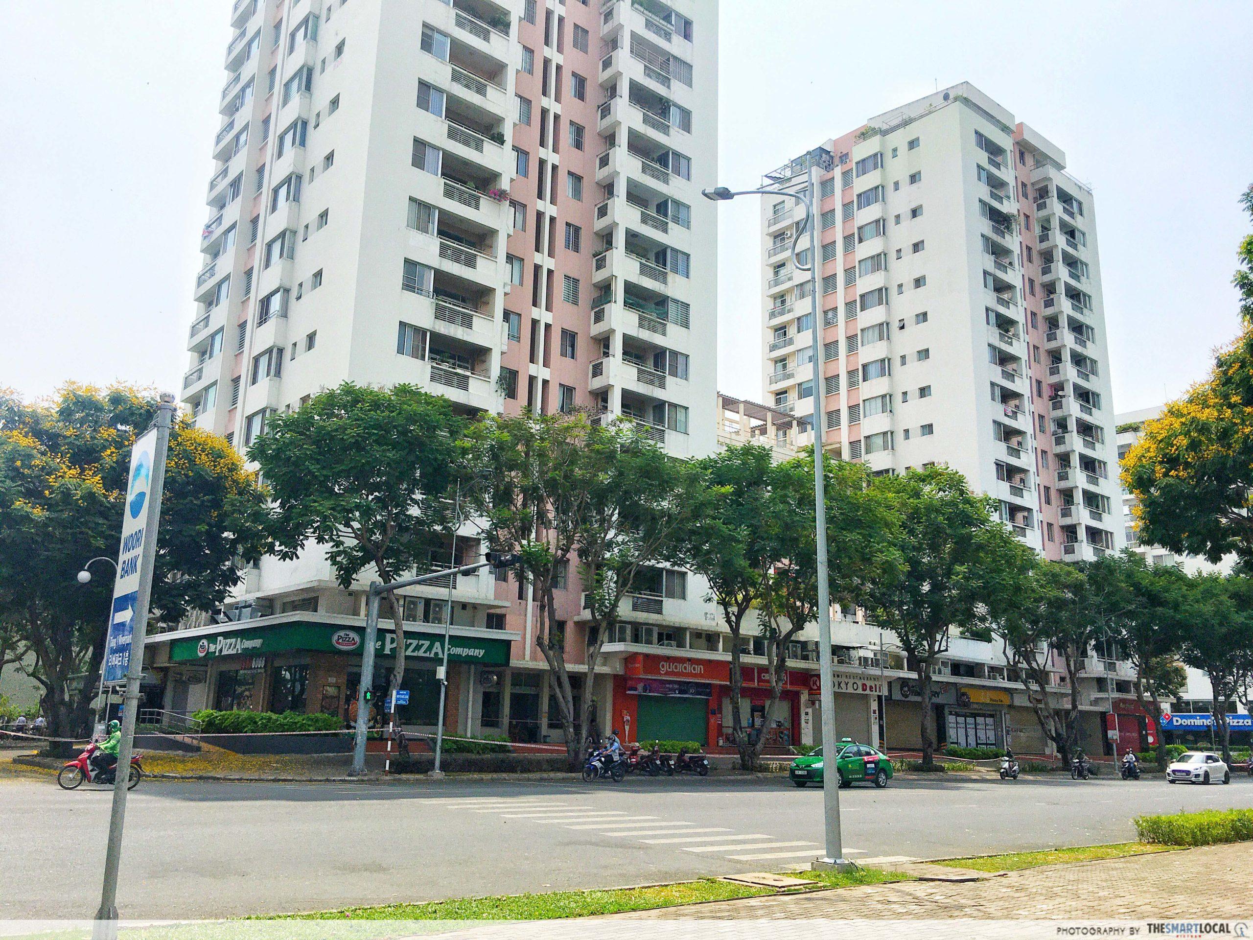 Park View apartment building where Case 66 lives
