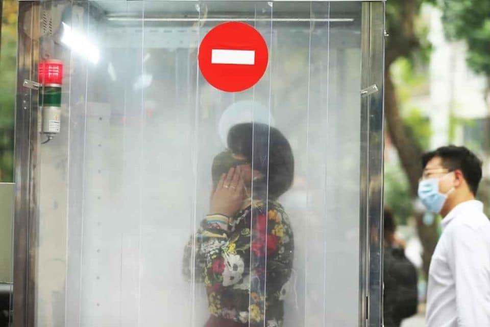 covid 19 vietnam disinfection chamber