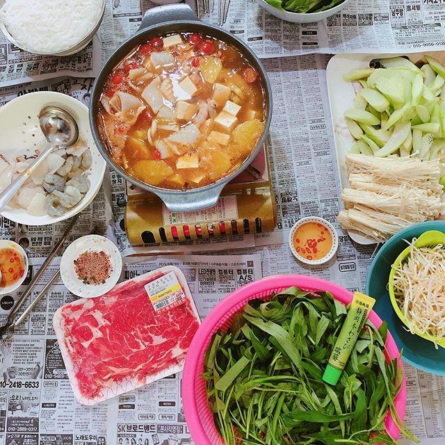 make dinner at home