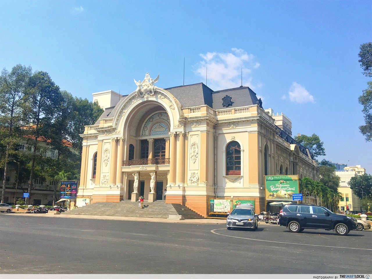 The opera house Saigon