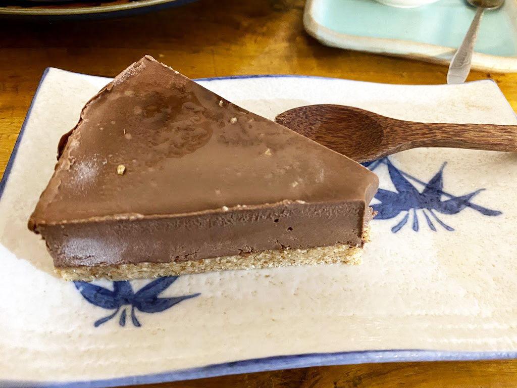 hanoi vegetarian restaurant lovegan chocolate cake