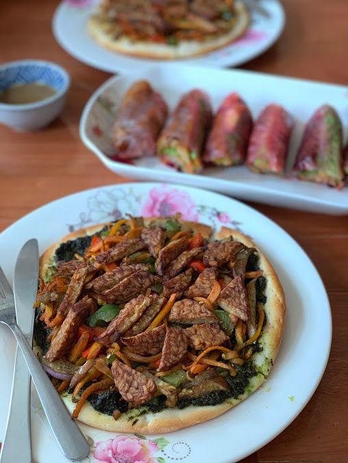 hanoi vegetarian restaurant lovegan pizza