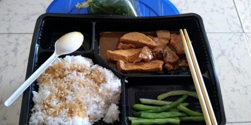 meal of quarantine patient