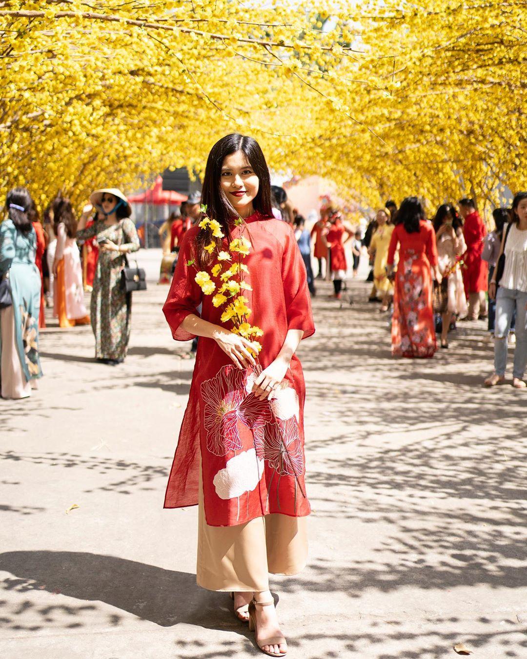 vietnamese festivals tet ao dai