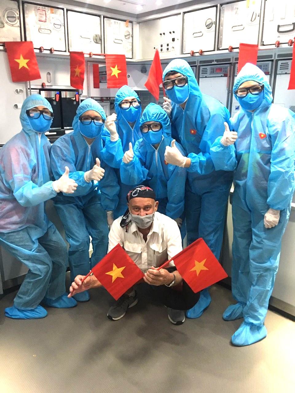 Vietnam airlines flight to Europe 5