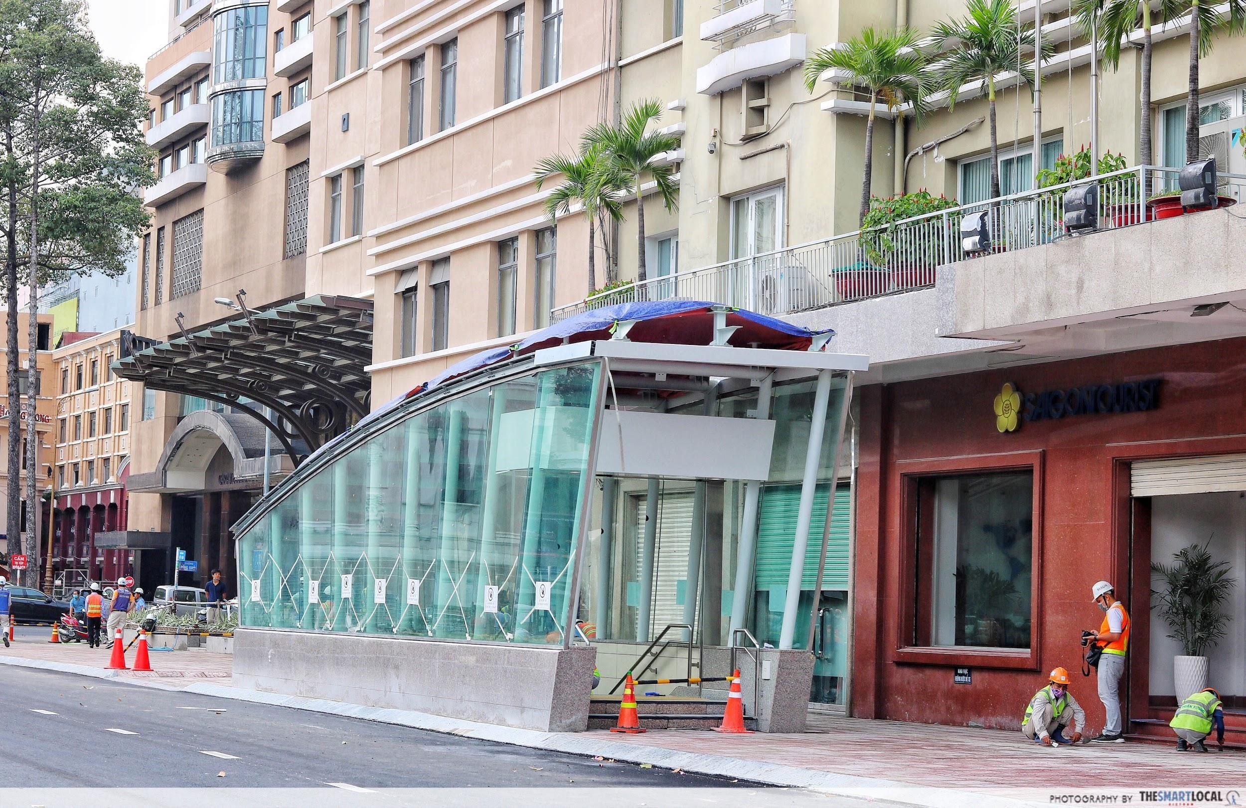 Saigon metro station