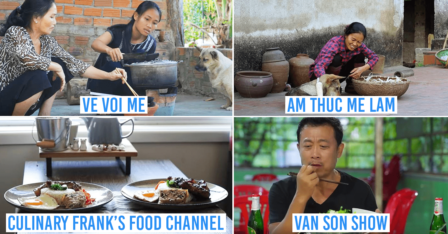 Vietnamese cooking channels