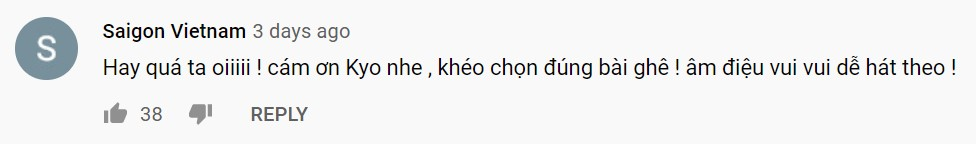 Kyo York Trong Com comment 2