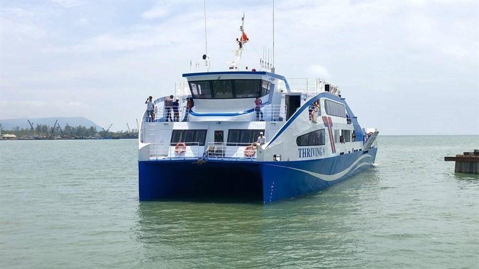Vung Tau Sai Gon ferry