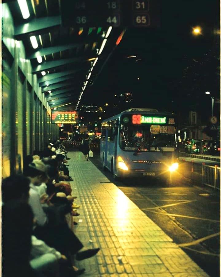 Saigon buses
