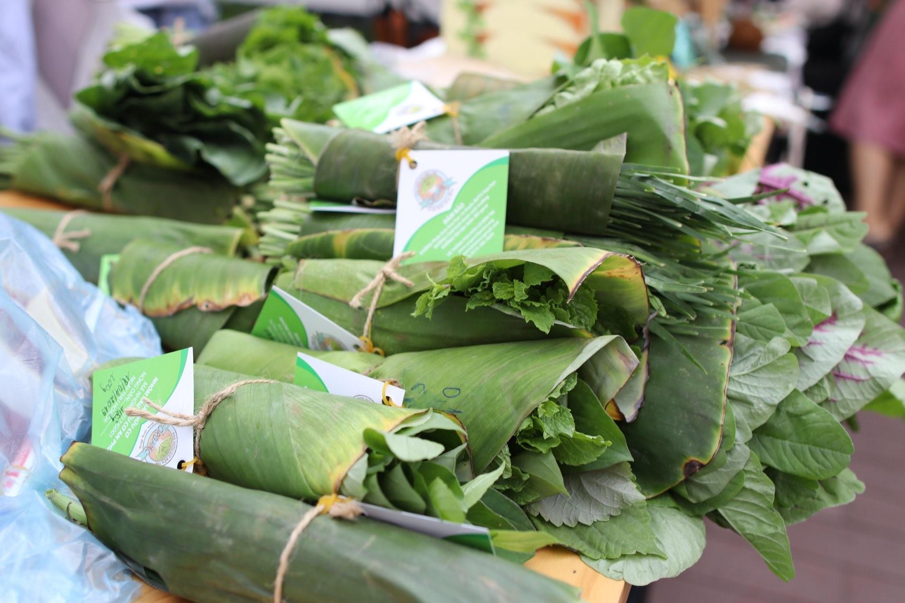 Saigon farmer market