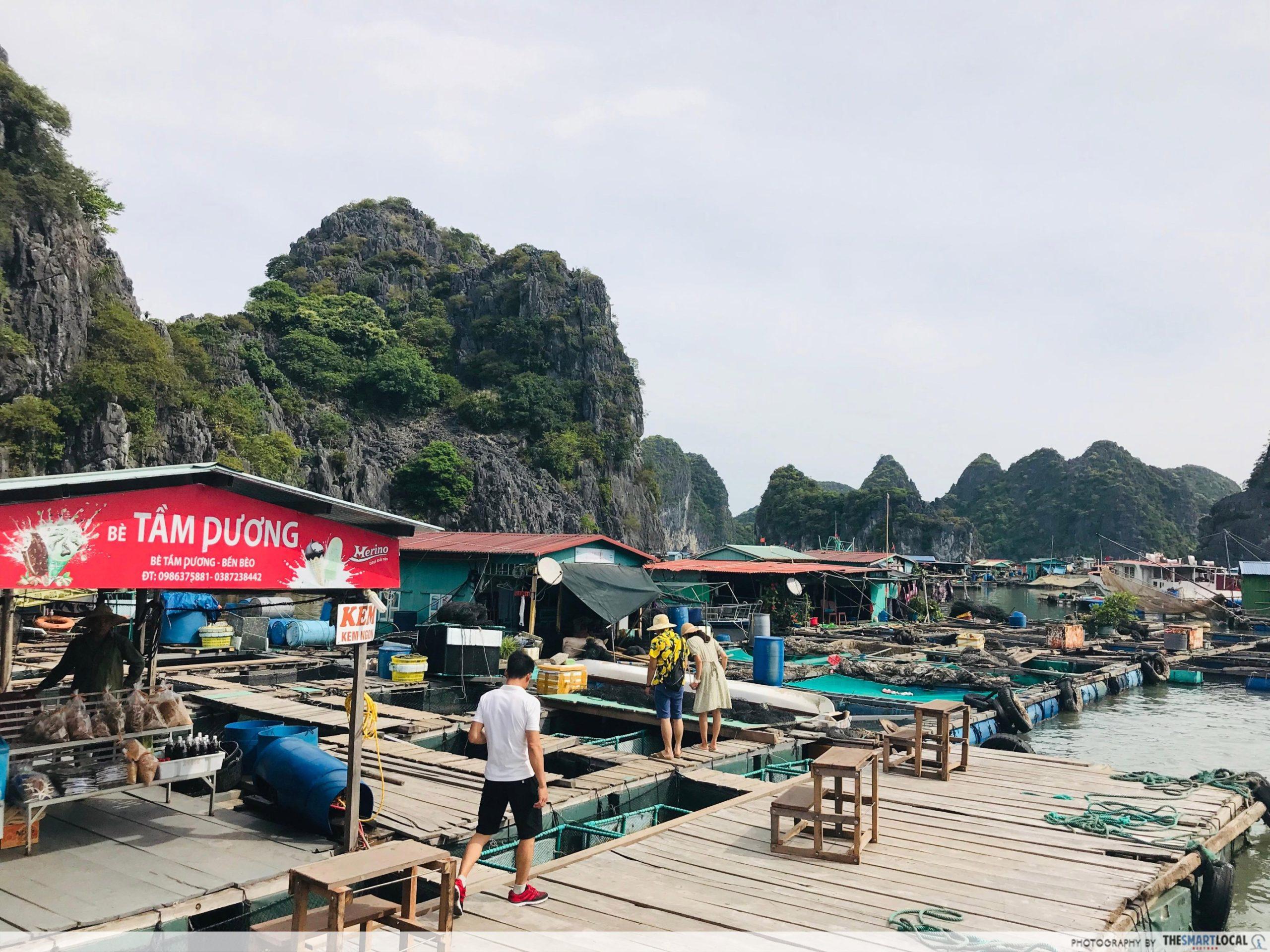 Lan Ha Bay Cai Beo