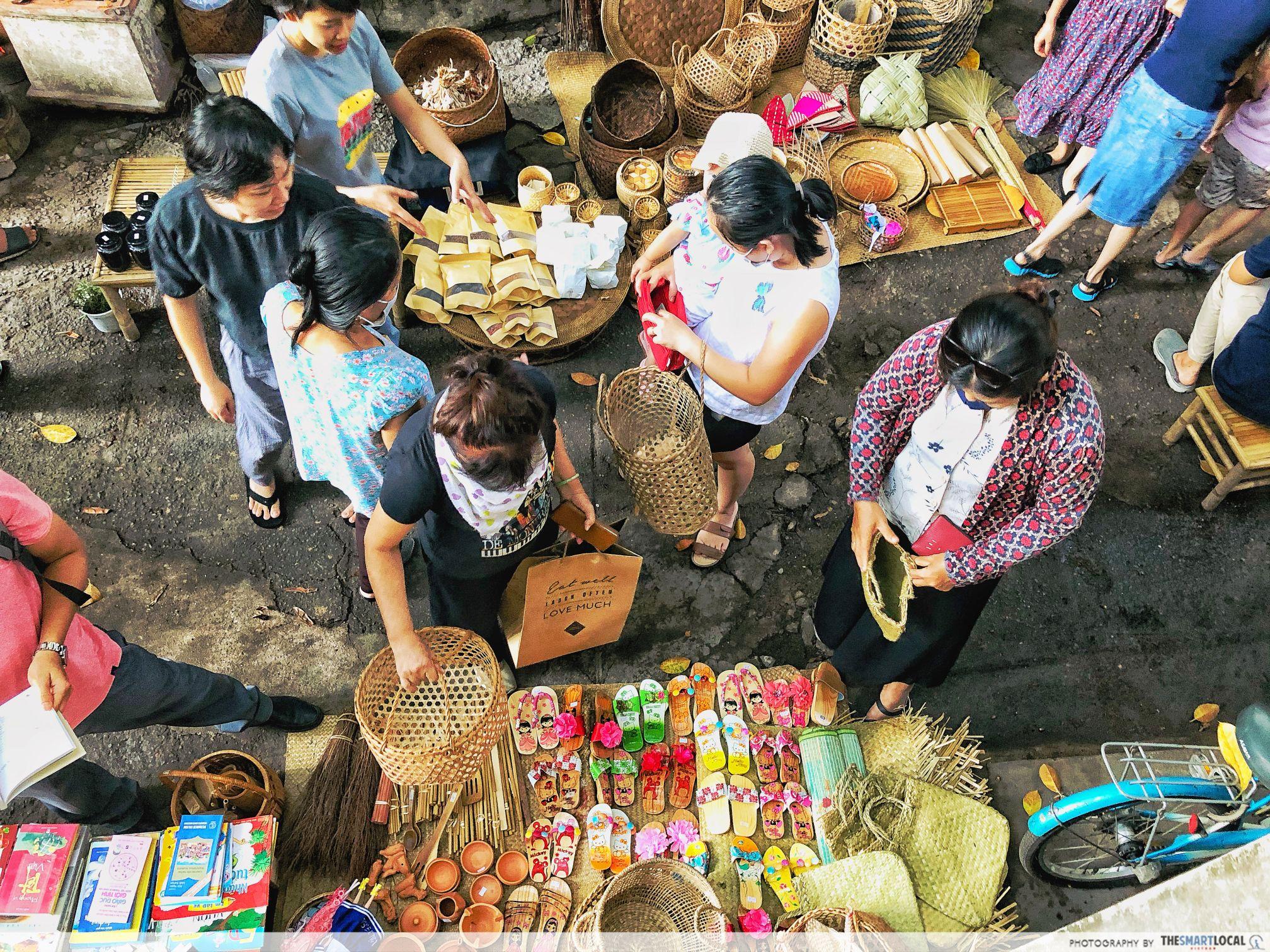 Vietnam flea market