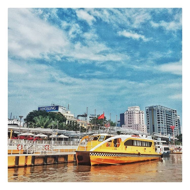 Saigon water bus