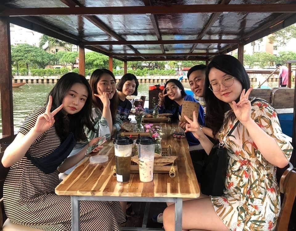 Saigon boat ride